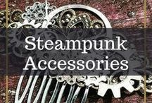 Steampunk Accessories / Wearable Steampunk art! This is a board for Steam accessories only- no outfits or corseted girls ;) Let's find the most original pieces on Pinterest! To be added, send me a message on my site: papercranest.com/contact