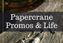 Papercrane Promos & Life / A compendium of past and present promotions, materials and other behind-the-scenes items!