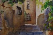 Art & Travel / Art and Travel go hand in hand. Sharing watercolour painting tips for travelling and trips for artists.