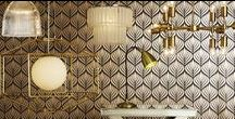 Art Deco Lighting / Channeling a bygone era of glamour, prohibition and all things 'Gatsby', Deco Luxe can be a tricky interior design style to nail. Art Deco is all about rich colour; however, the modern interpretation of the style uses more of a monochrome colour palette with dazzling gold and metallic touches. https://www.lighting-direct.co.uk/shop-the-trend/deco-luxe.html