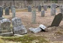 Grave Markers / There's so much history to be discovered in old gravestones.