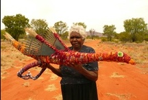 Tjanpi Tjulpu / Birds made by Artists from the NPY regions of Central Australia.  Tjanpi Desert Weavers
