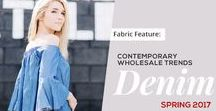 Denim & Chambray / Sourcing denim wholesale? Check out our clothing vendors for the top fashions: http://www.lashowroom.com.