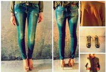 Casual Girl / Selezione di capi per le amanti dello stile casual! #casual #jeans #scarpe #maglietta #giubbino