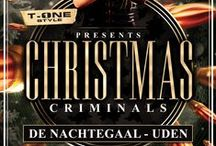 T-onestyle presents: Christmas criminals / Criminals, Christmas, T-onestyle, T-one Style, dj T-one, dj, gangsters, police, EDM,