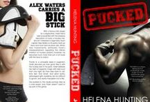 PUCKED / With a famous NHL player for a step-brother, Violet Hall is well acquainted with the playboy reputation many hockey stars come with. She's smart enough to steer clear of those hot, well-built boys with unparalleled stamina. That is until she meets the legendary team captain—Alex Waters.
