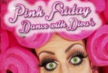 T-onestyle presents: Dance with Diva's / Pink friday, gay parade, diva, drag queen, extravagant