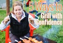 GRILL TIPS / Grilling is not hard when you learn the tricks of the trade.