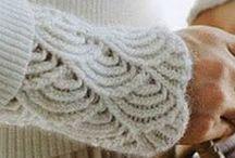 Tricot, motifs, points, astuce - Knitting stiches and tricks, Striecken punkte und tricks