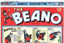 Comics: Beano and Dandy / The comics that played a huge part in my life in the 1950s