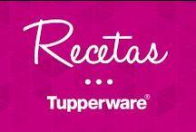 Recetas Tupperware / Deliciosas recetas que podrás preparar de manera sencilla y rápida con tus productos Tupperware. / by Tupperware México