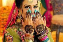Bridal/Desi Wear, Etc. / Asian bridal dresses, party wear, accessories, & mehndi.  / by A. H.