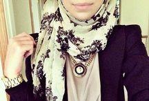 Hijab Fashion / Hijabi. My right. My choice. My life.  / by Aqsa H.