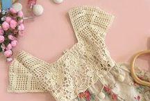 Crochet - Top, Waist, Blouse, Dress