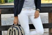 Outfits - White denims