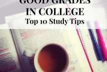 College / Here are some college tips on how to study, save money, decorate exc.