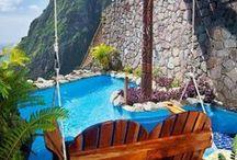 Honeymoon / Travel destinations for newlyweds.