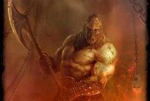 Demons & Dieties / Gods, Demons, Deities, Demonology, plus Occult, Horror, and Dark Arts