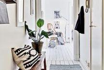 HOME | HALLWAY INSPIRATION / Hall inspiration | Hallway inspiration | Hallway decor | Family home decor