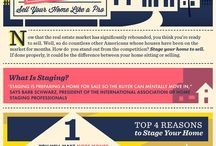 """""""Home Staging Central"""" / Home staging tips, tricks, statistics and strategies.  (Please message me your email to become a contributor to the board.)"""
