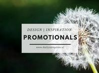 Design | Promotionals Inspiration ☆