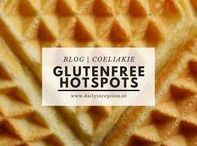 Daily Inception | Hotspots (Glutenfree) / Dit bord bevat alle glutenvrije hotspots van Daily Inception.  All blogs are written in Dutch