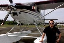 Seaplanes / I am a Cessna 185 seaplane owner/pilot sharing my love of flying! Feel free to share your love of Aviation here as well!  #Cessna #Seaplane #Amphibian #185 #WaterFlying  / by Bellingham Homes & Real Estate