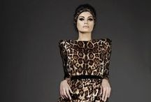 "ANIMAL FASHION / ""My weakness is wearing too much leopard print."", Jackie Collins."