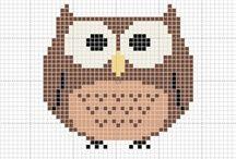 Vzory a šablony I. / MIX: - kresba - malba - pájení do dřeva - práce s papírem - vyšívání
