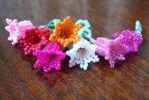Květinová inspirace / květiny z korálků