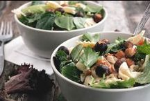 Nut recipes: salads / Summer or Winter, some beautiful salads with a nutty crunch