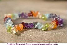 Čakrové šperky / inspirace pro tvorbu šperků v barvách čaker nebo