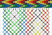 Vzory a šablony III. / drhané náramky