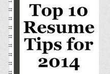Resume Tips / Resume Tips