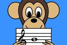 Elementary Music / Fun Music Ideas, Music Composing, Music Worksheets, Music Books, Boom whackers, Music Activities and music composers. Fun music Lessons, Fun Stuff for Music Class, Music centers, music games, music worksheets, elementary music, music class, fun stuff for music class.