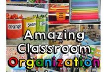 Classroom Organization / Classroom Organization Ideas, Education