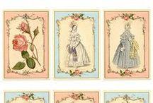 Ephemera _  Vintage Garden_ Printables