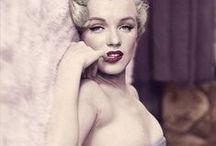 Marilyn Monroe / The movie star Marilyn Monroe
