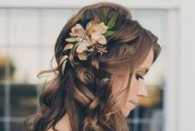 Wedding Hair / A collection of stunning bridal hair inspiration.