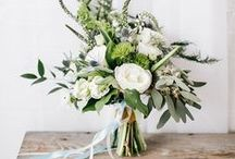 Wedding Flowers / Lovely floral inspiration for beautiful bridal flowers and wedding flowers.