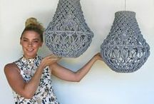 macrame creations / Create things with macramé