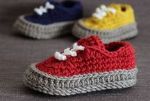 crochet - knitting socks and shoes / Something to put on our feet!!!!
