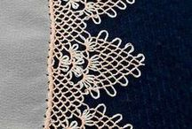 needle point lace - Μπιμπίλα / A technique with just a string and imagination