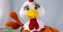 amigurumi / What nice things we can make with crochet