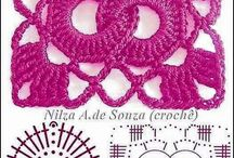 crochet patterns / Many different patterns for our crochet projects