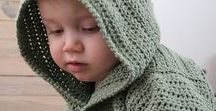 Crochet - knitting children / Cloths for kids and other useful things made with crochet or knitting