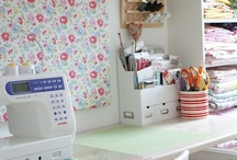 Sewing Room Inspiration / by Needle Little Inspiration?