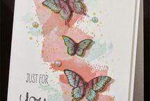 Cards / Cards I like as to lay out and ideas to use on cards .  / by Sharon Krivulka