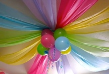 Birthday Party Ideas / With 2 girls and my love of entertaining new ideas for birthday parties are always welcome!  / by Terah Guster