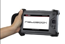 Fieldbook A series tablet PCs / The new Fieldbook A2 has it all. So small, yet fully loaded with the latest technology. Dual-core Atom CPU, GPS, 4G module, barcode scanner and NFC are on board. - See more at: http://www.logic-instrument.com/products/fieldbookrugged-tablets/rugged-tablet-pc/fieldbook-a2.html#sthash.jGAjbAaM.dpuf - #fieldbook #tablet_pc #outdoor_tablet #rugged_tablet